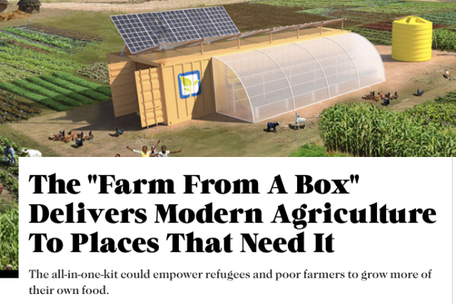 Farm from a box